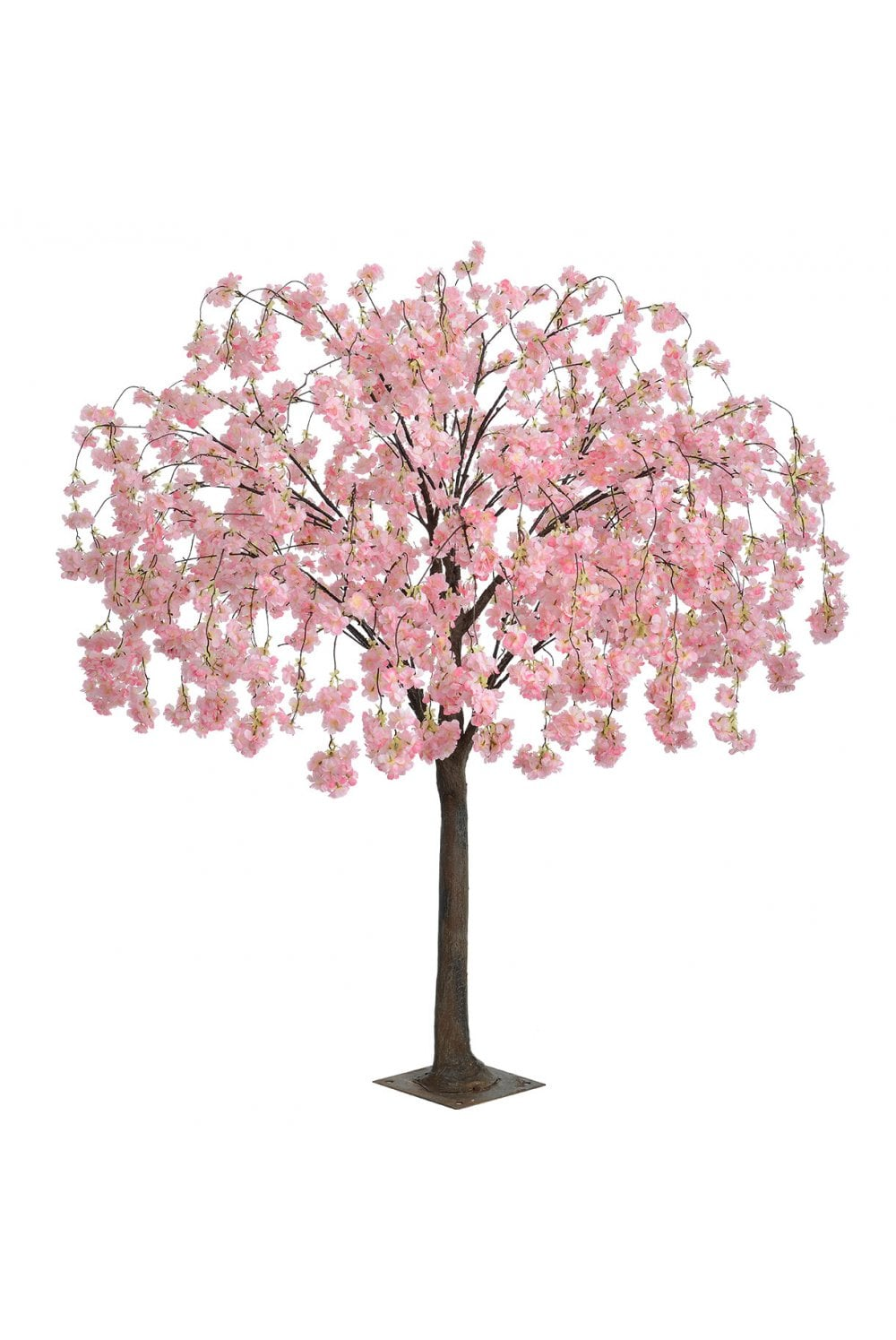 Artificial Cherry Blossom Tree Weeping 1 8m Pink Artificial Plants