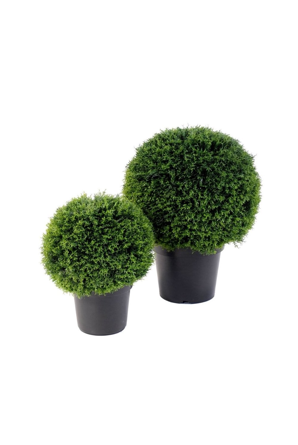 Artificial Conifer Ball Available In 4 Sizes Replica Plants
